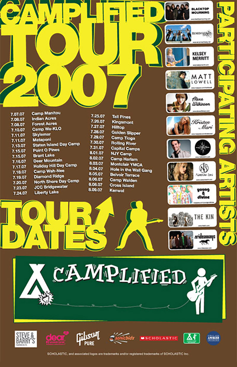 Camplified Poster Design 2007