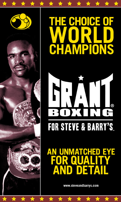 Evander Holyfield Grant Boxing Poster Design