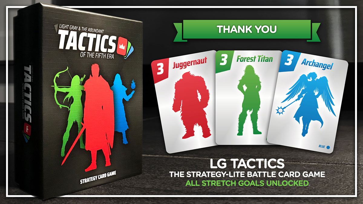 LG TACTICS - strategy card game